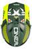 ONeal Fury RL Afterburner Fullfacehjälm gul/grön